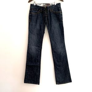 Y2K Guess Daredevil Boot Cut Jeans
